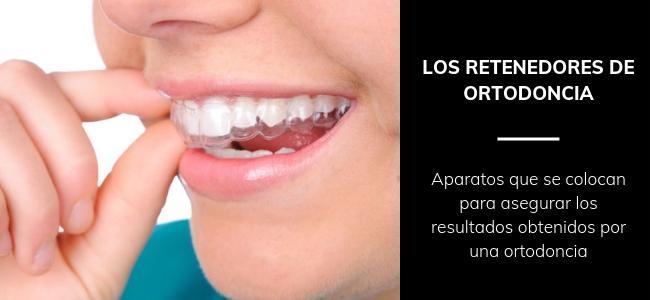 retenedores ortodoncia que son