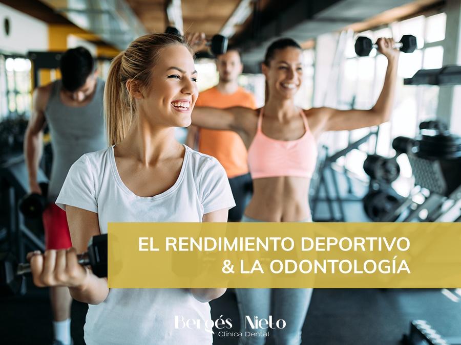El rendimiento deportivo y la odontología